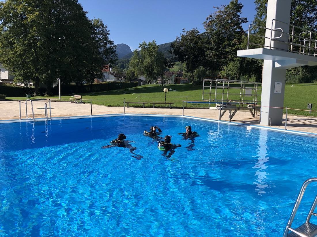 Ausbildung mit dem ORCA Dive Club Rosenheim